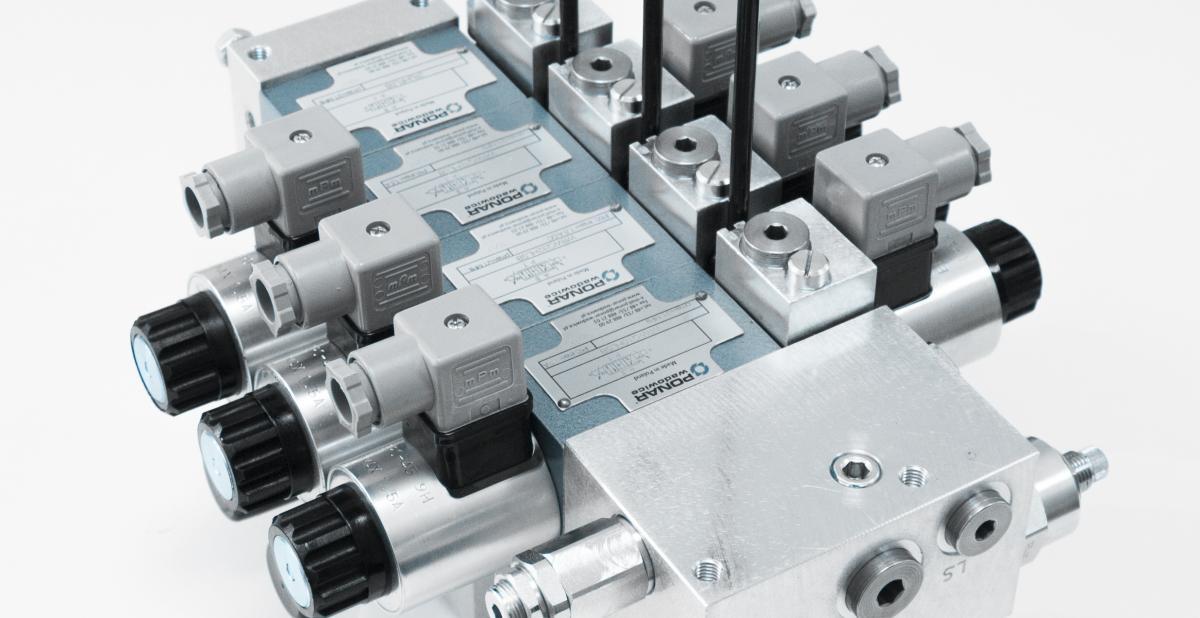 Rozdzielacz 4-drogowy sekcyjny proporcjonalny load sensing LSB nowością na targach MSPO