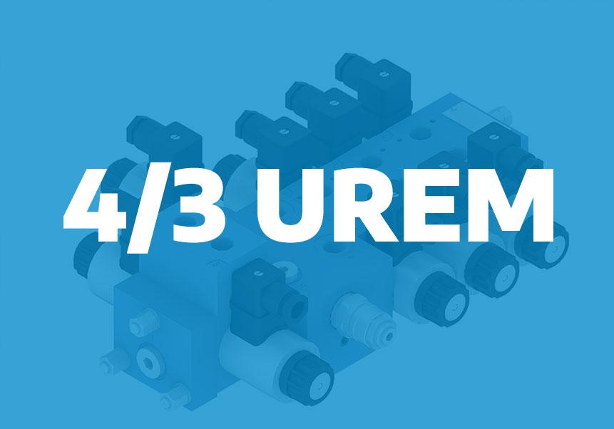 4/3UREM – directional control valve for mobile applications – single movements
