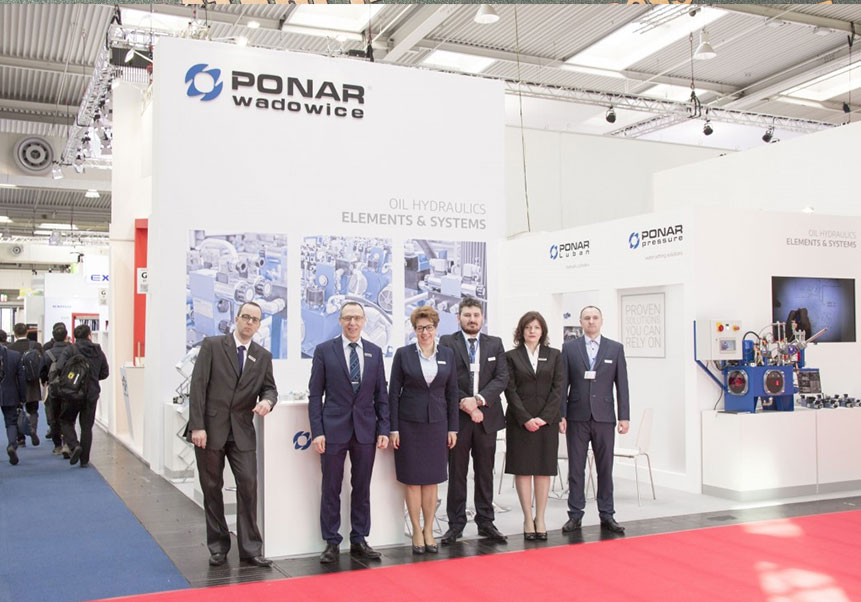 Hannover Messe and Bauma - thank you for visiting the stand