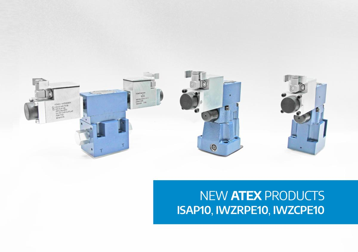 New intrinsically-safe valves!