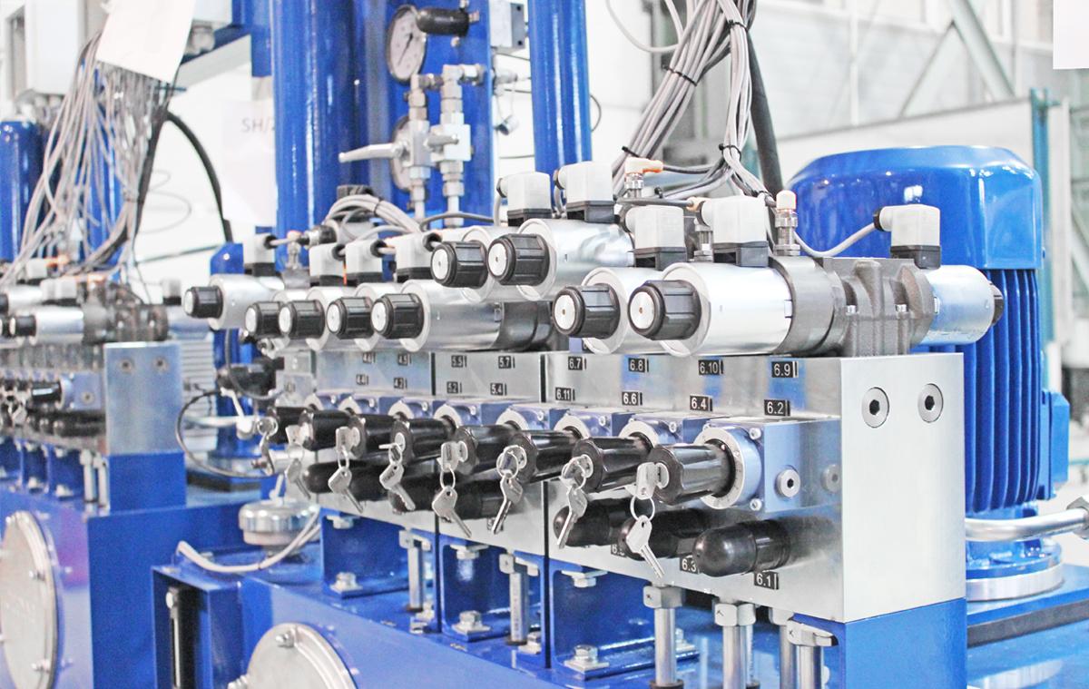 Bloki hydrauliczne - możliwości produkcyjne