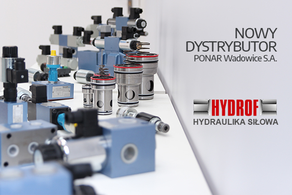 Hydrof nowym dystrybutorem PONAR Wadowice S.A.