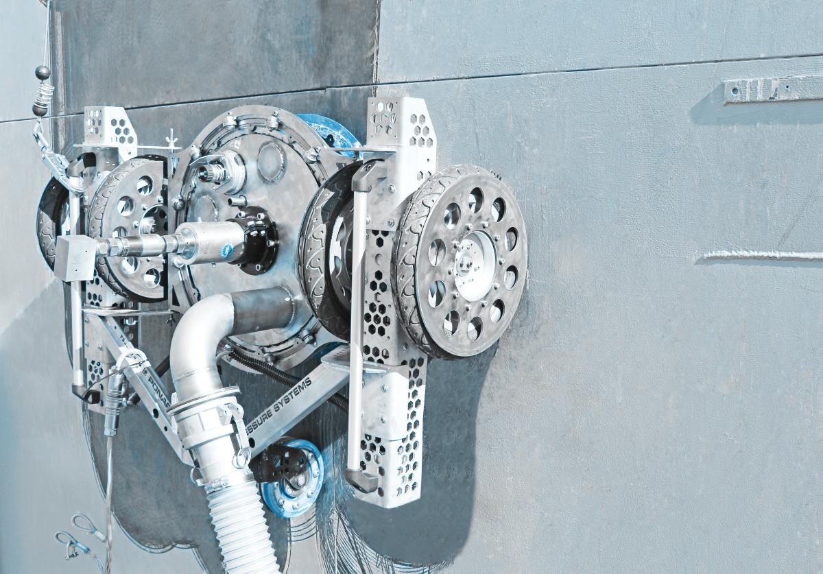 High pressure water systems PONARPressure