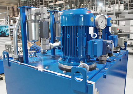 A lubrication system of a lift<br>machine bearings