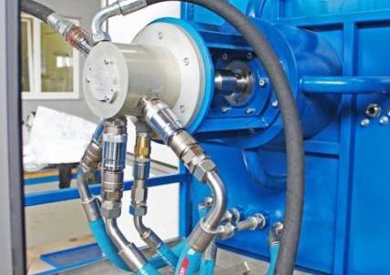 Stanowisko testowe oleju