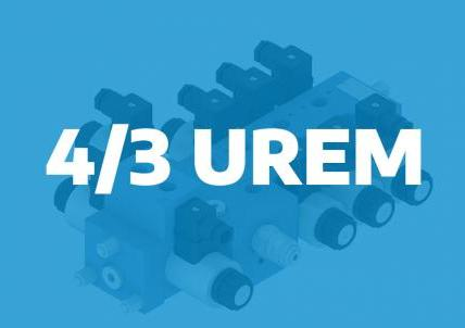 4/3UREM – directional control valve for mobile applications – single movements