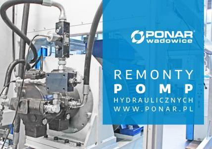 Serwis i remonty pomp hydraulicznych