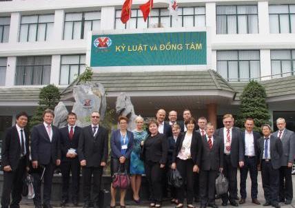 PONAR on mission to Vietnam