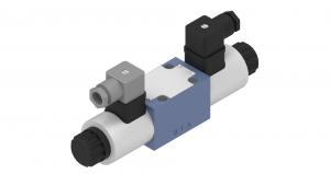 Zawory sterujące ciśnieniem  redukcyjne  płytowe (CETOP), proporcjonalne  sterowane bezpośrednio