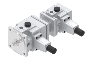 Pompy i silniki pompy hydrauliczne łopatkowe produkcji PONAR Wadowice S.A. zmiennej wydajności, kombinacja pomp  V3+V3