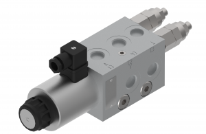 Directional control valves  directional control valves  threaded  electrically controlled with pressure relief/check valves