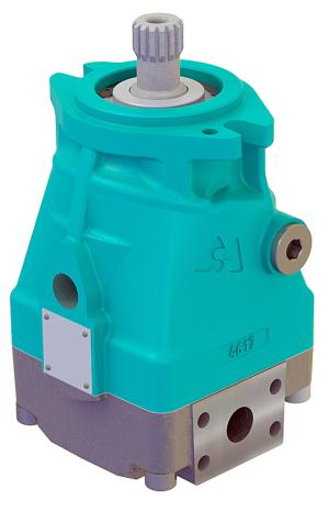 Pompy i silniki  silniki hydrauliczne  wielotłoczkowe - osiowe  silnik wielotłoczkowy średni o stałej chłonności   MAM