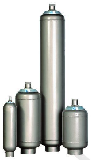 Akumulatory i bloki zabezpieczenia akumulatory pęcherzowe niskociśnieniowe standardowe