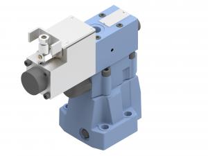 Zawory sterujące ciśnieniem redukcyjne zawory redukcyjne płytowe (CETOP) proporcjonalne, iskrobezpieczne sterowane pośrednio elektrycznie proporcjonalnie  IWZRPE10