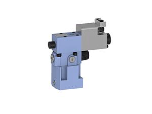 Zawory sterujące ciśnieniem  redukcyjno-przelewowe  zawory redukcyjno-przelewowe płytowe (CETOP) proporcjonalne, iskrobezpieczne  sterowane pośrednio elektrycznie proporcjonalnie   IWZCPE10
