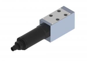Zawory sterujące ciśnieniem  dołączające  płytowe  sterowane bezpośrednio   DZ5DP