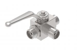 Osprzęt pomocniczy      zawory kulowe dla mediów ciekłych i gazowych, dwu- lub wielodrogowe, z możliwością sterowania ręcznego lub mechanicznego   3BK