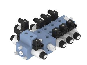 Directional control valves  directional control valves  sectional  4-way sectional