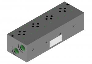 Subplates CETOP brak inline