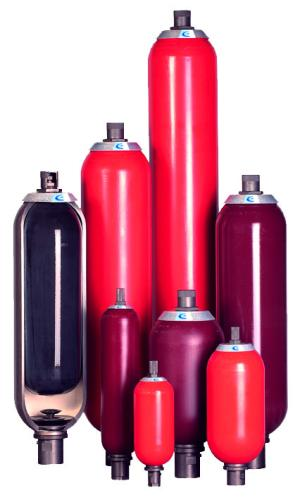 Akumulatory i bloki zabezpieczenia akumulatory pęcherzowe wysokociśnieniowe standardowe  AS, ASP