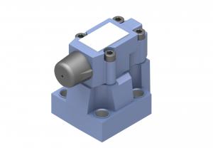 Zawory sterujące ciśnieniem  zawory przelewowe  płytowe/gwintowe/nabojowe  sterowane pośrednio   DB (DBW)