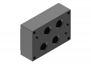 Płyty przyłączeniowe  CETOP  do rozdzielaczy suwakowych     G151/01, G154/01, G156/01