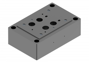 Subplates CETOP/other types for directional control valves brak  G174/01