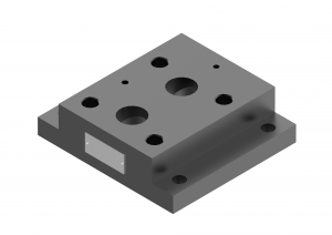 Płyty przyłączeniowe  CETOP  do zaworów ograniczających ciśnienie     G411/01