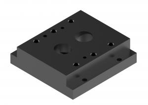 Płyty przyłączeniowe  CETOP  do zaworów redukcyjnych     G415/01