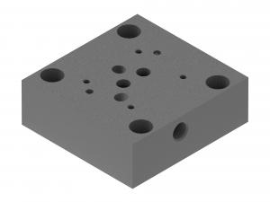 Płyty przyłączeniowe  CETOP  do rozdzielaczy suwakowych     G540/01, G541/01