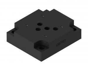 Płyty przyłączeniowe CETOP do rozdzielaczy suwakowych brak  G67/01, G534/01