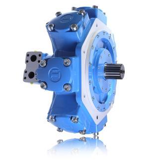 Pompy i silniki silniki hydrauliczne wielotłoczkowe - radialne silnik hydrauliczny radialny  R8