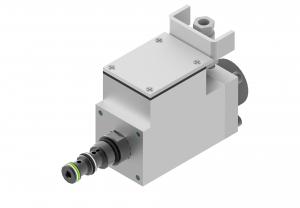 Zawory sterujące ciśnieniem redukcyjne zawory redukcyjne nabojowe, proporcjonalne, iskrobezpieczne sterowane elektrycznie  IWZCDE4