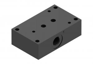 Płyty przyłączeniowe modułowe/pozostałe brak system modułowy