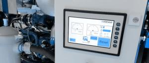 High pressure water systems      control and monitoring systems