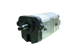 Pompy i silniki pompy hydrauliczne zębate zazębienie zewnętrzne  tandem