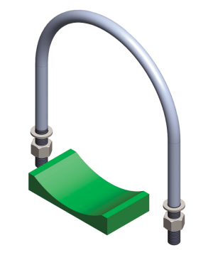 Akumulatory i bloki zabezpieczenia  akcesoria  akcesoria  obejmy z siodłami   U