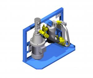 Systemy hydrauliczne  Układy hydrauliczne  zespoły pompowe  zespół chłodząco-filtujący   UHCH