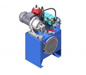 Systemy hydrauliczne  Układy hydrauliczne  z pompą łopatkową
