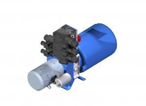 Systemy hydrauliczne Układy hydrauliczne kompaktowe brak
