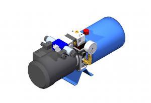Systemy hydrauliczne  Układy hydrauliczne  kompaktowe     UHKZ