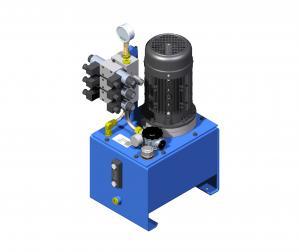Hydraulic systems hydraulic systems with a gear pump brak