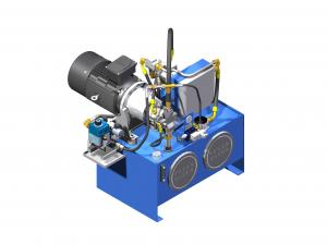 Systemy hydrauliczne Układy hydrauliczne z pompą tłoczkową brak  UHPT