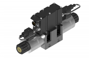 Directional control valves  directional control valves  subplate (CETOP) proportional  integrated electronics   USAEB