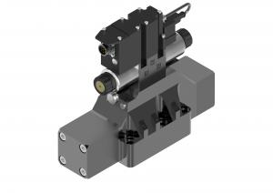 Rozdzielacze suwakowe płytowe (CETOP) proporcjonalne sterowane pośrednio ze zintegrowaną elektroniką