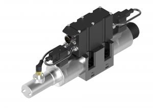 Rozdzielacze suwakowe płytowe (CETOP) proporcjonalne zintegrowana elektronika oraz czujnik położenia tłoczka  USEEB