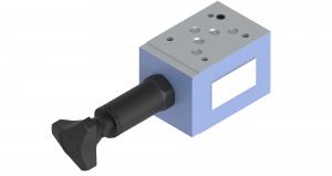 Zawory sterujące ciśnieniem dołączające warstwowe sterowane bezpośrednio  UZKC