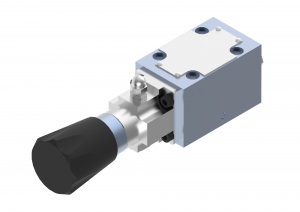 Directional control valves  directional control valves  subplate (CETOP), on-off  manually controlled with a knob