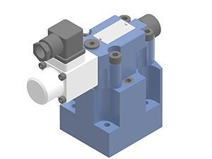 Zawory sterujące ciśnieniem redukcyjne zawory redukcyjne płytowe, proporcjonalne sterowane pośrednio