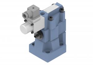 Zawory sterujące ciśnieniem przelewowe płytowe, proporcjonalne sterowane pośrednio